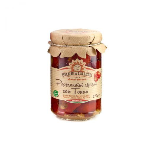 Tuna stuffed chilli peppers - Calabria