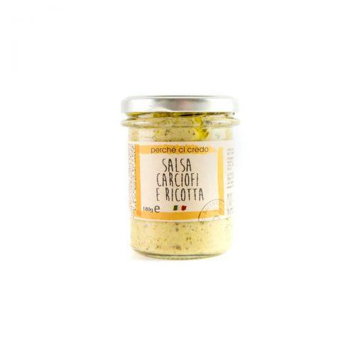 Salsa carciofi e ricotta - Puglia