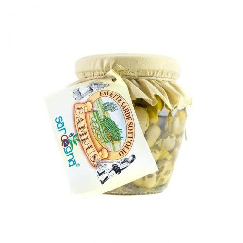 Fava-beans in oil - Sardinia