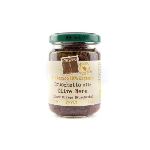 Bruschetta alle olive nere - Toscana
