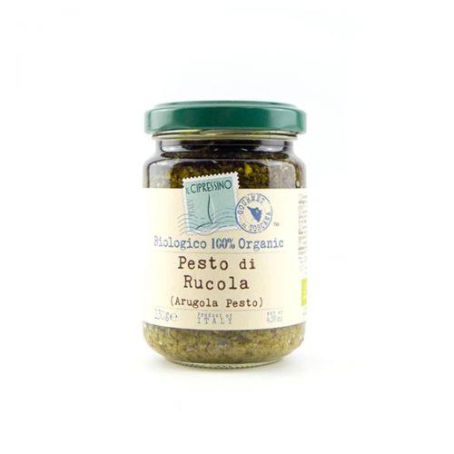 Biological arugula pesto Tuscany